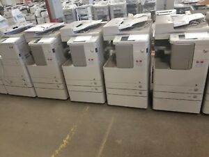 Lot Of 10 Canon Imagerunner 4025 Copier Printer Scanner 25ppm Ready To Go