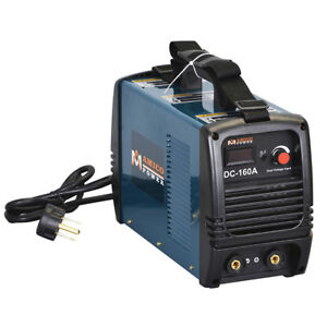 S160 am 160 Amp Stick Arc Dc Inverter Welder 115v 230v Dual Voltage Welding