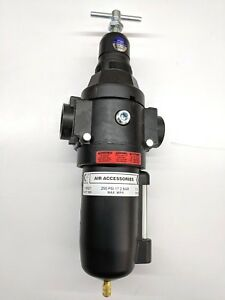 3 4 Graco 116521 Air Filter Regulator Combo W 2 Gauge Ports New Free Ship