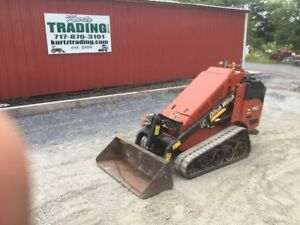 2015 Ditch Witch Sk750 Tracked Stand On Skid Steer Loader