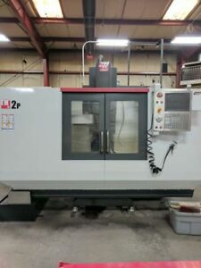 2014 Haas Tm 2p Cnc Vertical Machining Center