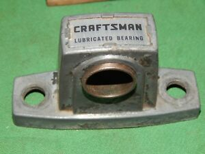 Vintage Craftsman Set Of 3 Pillow Blocks 3 4 Bronze Bushings Light Weight