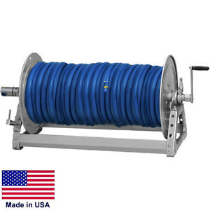 Pressure Washer Sprayer Manual Hose Reel 600 Ft 3 8 Or 475 Ft 1 2 Id Hose