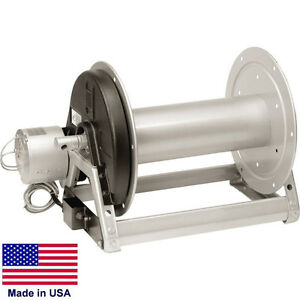 Pressure Washer Sprayer Electric Hose Reel 600 Ft 3 8 Or 475 Ft 1 2 Id 12v