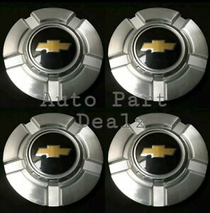 4 Pcs New Chevrolet Silverado 1500 Tahoe 2007 2013 Wheel Center Hub Caps 9595989