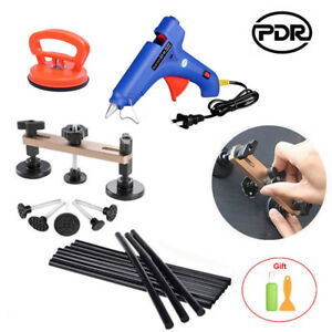 Electric Gun Glue Stick Bridge Puller Mini Puller Pdr Tool Set Car Dent Removal