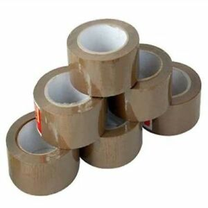 105 Case Tan Packaging Packing Tape 3 X 270 24 Rolls case 1 Pallet