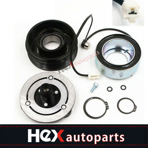 A c Ac Compressor Clutch Kit front Plate Coil And Bearing For Mazda 3 5