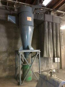 Torit donaldson Cyclone 25 Hp Dust Collector 36