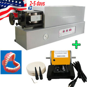 Dental Automatic Denture Injection Molding Machine Heater +Mini Buffing Polisher