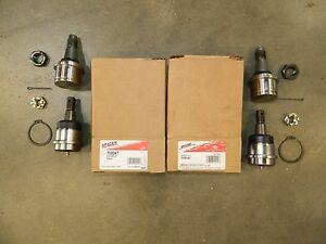 Ball Joint Kit Upper Lower Dodge W2500 W3500 Dana 60 Front Both Sides Spicer 4x4