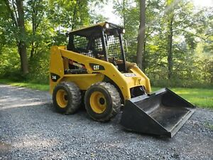 2003 Caterpillar 246 Skid Steer Loader Diesel Hydraulic Cat Compact Machinery