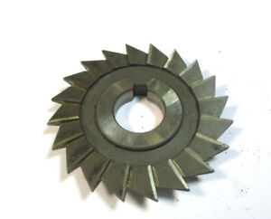 Angle Milling Cutter Hss D 80 X9x22 18 With Eckradius R Ca 1 By Wmw Pws