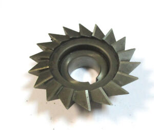 Angle Milling Cutter Hss D 90 X30x27 50 Type H Pws Wmw H22584