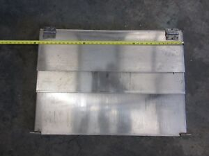 90 Fadal 4020 Ht Cnc Vertical Mill 35 X 25 Z Axis Way Cover Covers