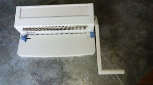 Pc246 Metal Spiral Coil Binding Machine Used 13 Heavy Duty