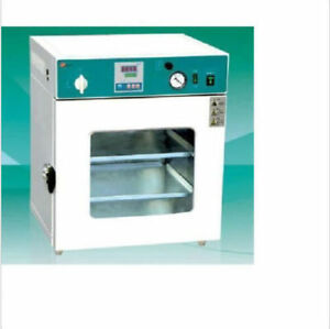 Lab Digital Vacuum Drying Oven 250 c 12x12x11 Cold Rolling Steel Dhl fedex
