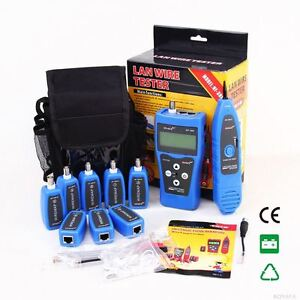 Nf388 Network Lan Phone Cable Tester Wire Tracker With Multiple Tester Ports