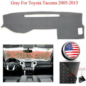 Anti Slip Dashmat For Toyota Tacoma 2005 2015 Dashboard Cover Carpet Pad Black