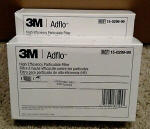 2 pack 3m Adflo 15 0299 99 High Efficiency Particulate Filter Speedglas Papr