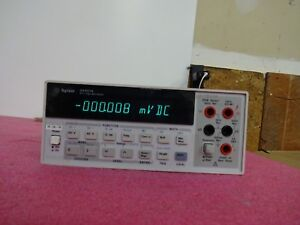 Agilent Hp Digital Multimeter 34401a 6 Digit Hp Hewlett Packard