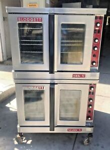 Blodgett Mark V Double Stack Electric Convection Ovens