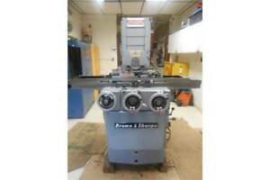 6 X 18 Brown Sharpe Hydraulic Surface Grinder Micromaster