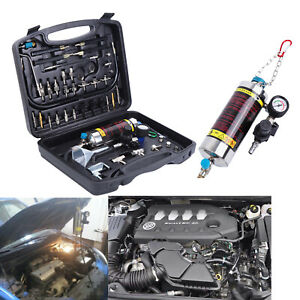 600ml Auto Non Dismantle Injector Cleaner Tester Fuel System For Petrol Car