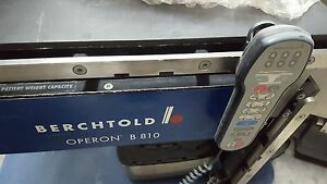 Berchtold Operon 802 Surgery Table Skytron Amsco