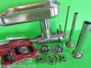 Meat Grinder Attachment For Hobart 84181 84184 Buffalo Chopper Extras