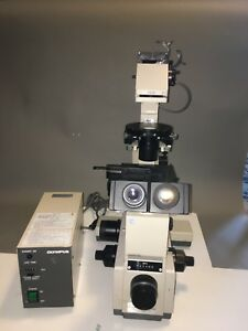 Olympus Imt 2 Phase Contrast Fluorescence Inverted Microscope