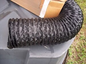 New In Box 6 Id X 25 Flexaust polyester Coated Fabric Hose