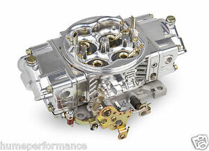 Holley 850 Street Hp Double Pumper Carburettor 4150 New 0 82851sa Aluminium Carb