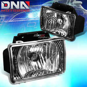 Black Clear Oe Bumper Fog Light Lamp bulb For 04 12 Chevy Colorado gmc Canyon