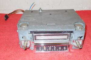65 1966 Mustang Fastback Coupe Gt Convertible Shelby Orig Am 8 Track Dash Radio