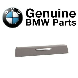 For Bmw E90 E92 E93 3 Series Passenger Right Cup Holder Trim Cover Gray Genuine