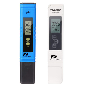 Water Quality Test Meter Pancellent Tds Ph Ec Temperature 4 In 1 Kit blue