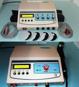 New Electrotherapy Physiotherapy Ultrasound 4 Channel Multi Therapy Unit Htr