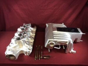 Gt40 5 0l Upper And Lower Fuel Injection Intake Explorer Mustang Cobra 302ci