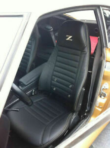 1970 1978 Datsun 240z 260z 280z Leather Replacement Seat Covers With Z Logo