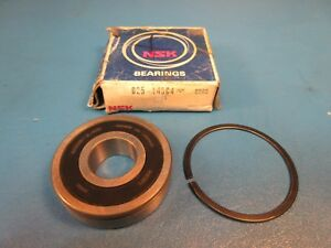 Nsk B25 145 C4 Sdrs Deep Groove Ball Bearing With Snap Ring single Row