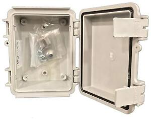 Bud Industries Style B Nema Plastic Box Electrical Enclosure Project All New