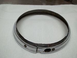 1937 38 Buick Headlight Bezel Ring Rt Very Nice