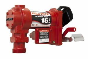 Fill rite Fr1204g Fuel Transfer Pump pump Only 15 Gpm