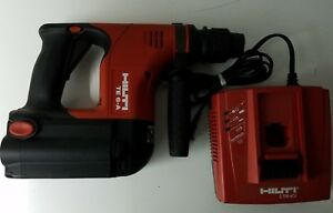 Hilti Te 6 a 36v Nicad Rotary Hammer Drill Set With Battery And Charger