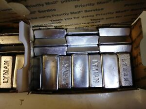 21 Pounds Clean Lead Ingots for Bullets Sinkers Moulds