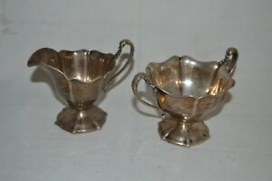 Vintage Reed Barton Sterling Sugar Bowl Creamer 297 Grams