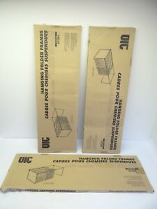 Lot Of 3 New Aic Hanging Folder Frames 91994 Filing Cabinet Hf lg2 042491