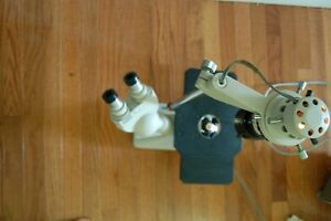 Olympus Tokyo Ck Inverted Microscope With Binocular Head And 2 Objectives