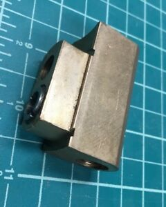 Hardinge Lathe Brass Cross Slide Nut Part